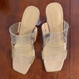 Kendall and Kylie nude sandals- Size 6.5